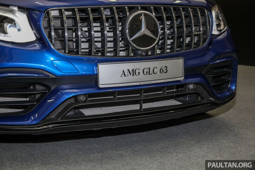 Mercedes-AMG GLC63 and GLC63 Coupe launched in Malaysia – 503 hp, 700 Nm; RM916k and RM934k Image #888157