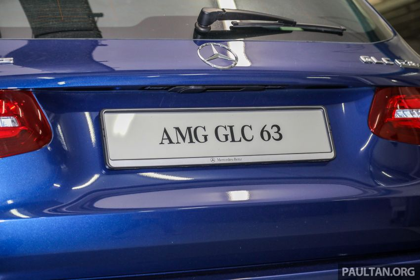 Mercedes-AMG GLC63 and GLC63 Coupe launched in Malaysia – 503 hp, 700 Nm; RM916k and RM934k Image #888174