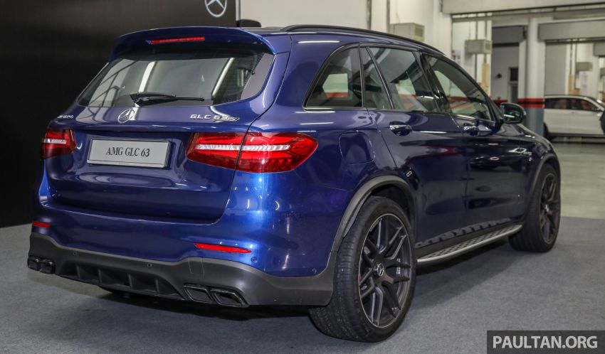 Mercedes-AMG GLC63 and GLC63 Coupe launched in Malaysia – 503 hp, 700 Nm; RM916k and RM934k Image #888142