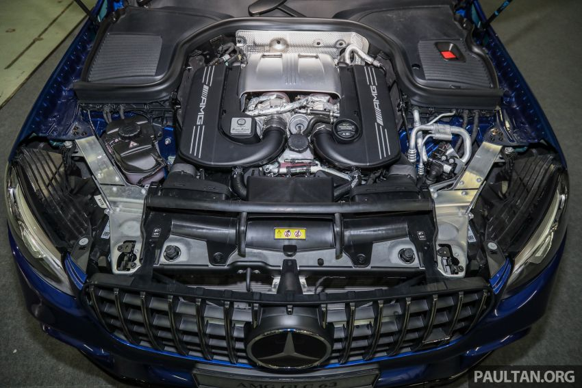 Mercedes-AMG GLC63 and GLC63 Coupe launched in Malaysia – 503 hp, 700 Nm; RM916k and RM934k Image #888184
