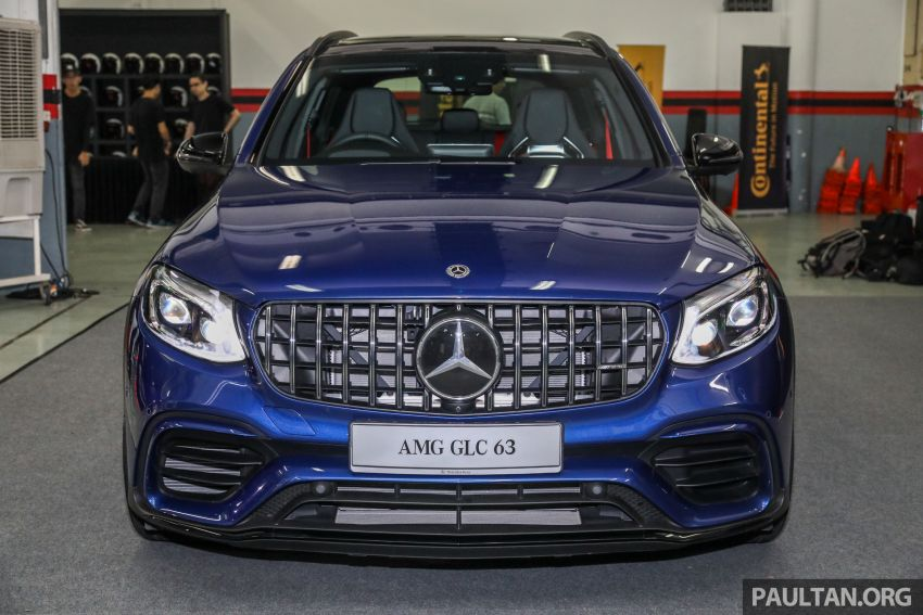 Mercedes-AMG GLC63 and GLC63 Coupe launched in Malaysia – 503 hp, 700 Nm; RM916k and RM934k Image #888144