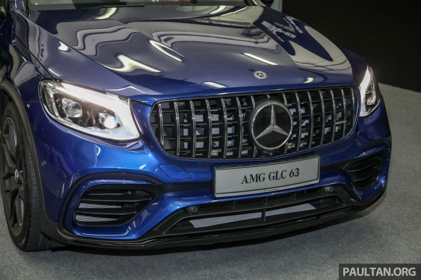 Mercedes-AMG GLC63 and GLC63 Coupe launched in Malaysia – 503 hp, 700 Nm; RM916k and RM934k Image #888149