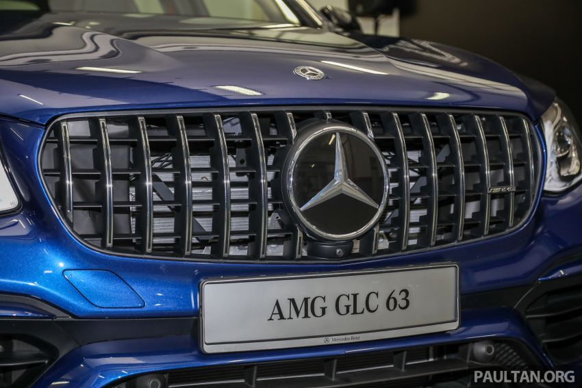 Mercedes-AMG GLC63 and GLC63 Coupe launched in Malaysia – 503 hp, 700 Nm; RM916k and RM934k Image #888155