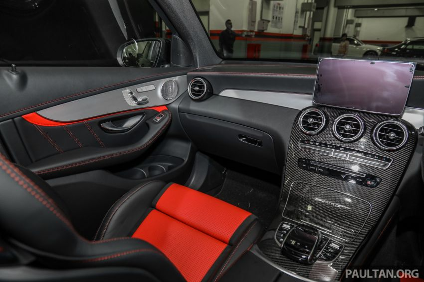 Mercedes-AMG GLC63 and GLC63 Coupe launched in Malaysia – 503 hp, 700 Nm; RM916k and RM934k Image #888217