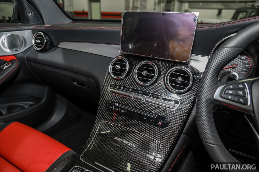 Mercedes-AMG GLC63 and GLC63 Coupe launched in Malaysia – 503 hp, 700 Nm; RM916k and RM934k Image #888195