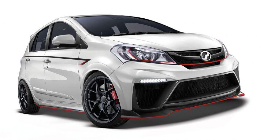 KLIMS18: Perodua Myvi GT – sporty hot hatch concept Image #891763