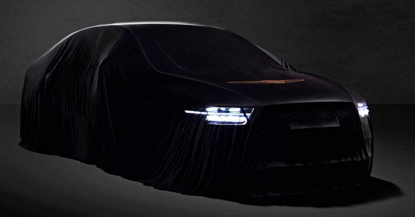 New Genesis G90 facelift teased before Nov 27 debut Image #886117