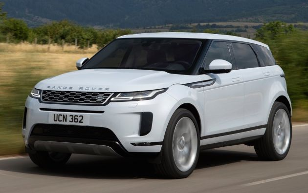 New Range Rover Evoque revealed - second-gen adds cool Velar touches