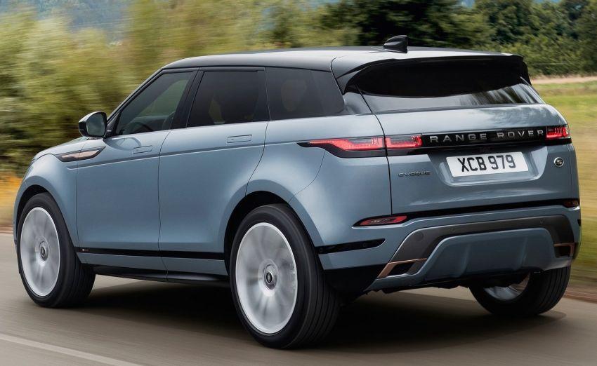 Range Rover Evoque generasi baharu didedahkan – rupa ikonik kekal, padat pelbagai teknologi baharu Image #893285