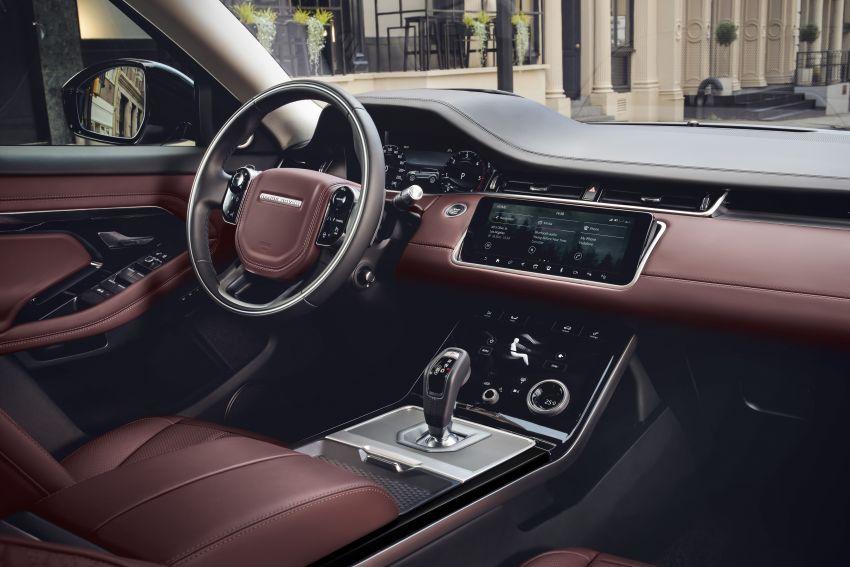 Range Rover Evoque generasi baharu didedahkan – rupa ikonik kekal, padat pelbagai teknologi baharu Image #893325