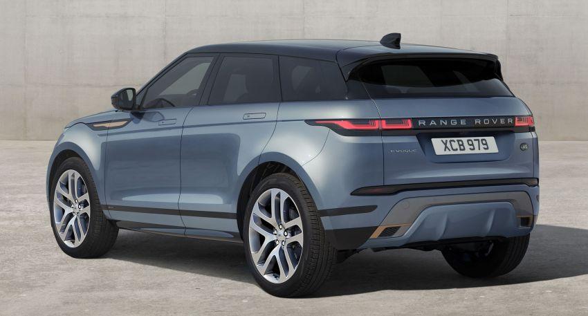 Range Rover Evoque generasi baharu didedahkan – rupa ikonik kekal, padat pelbagai teknologi baharu Image #893345