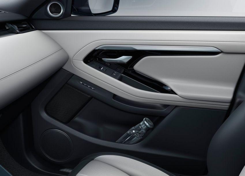 Range Rover Evoque generasi baharu didedahkan – rupa ikonik kekal, padat pelbagai teknologi baharu Image #893269