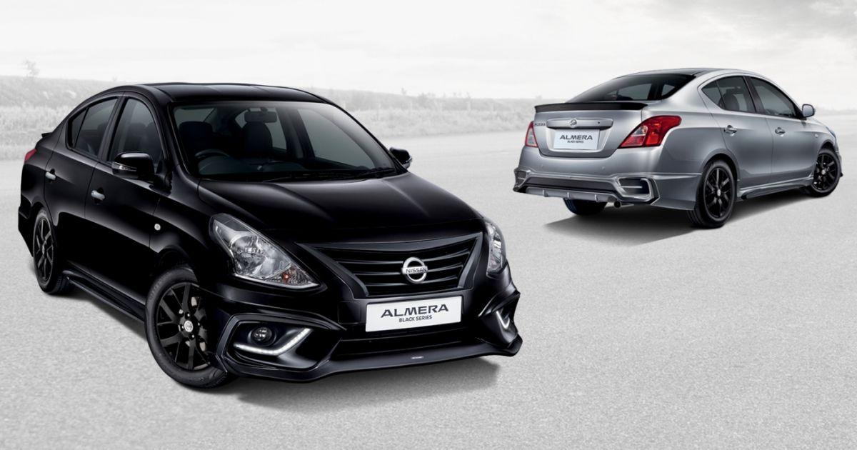 Nissan Almera Black Series revealed – RM70k-RM80k