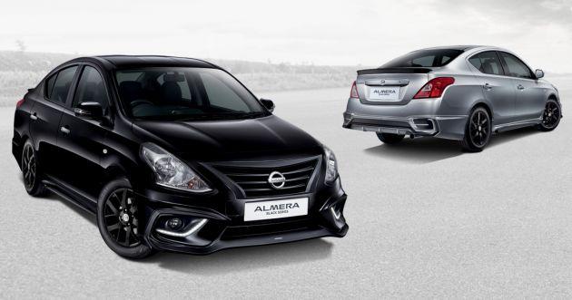 nissan almera black series revealed \u2013 rm70k rm80k Modified Nissan Almera Facelift