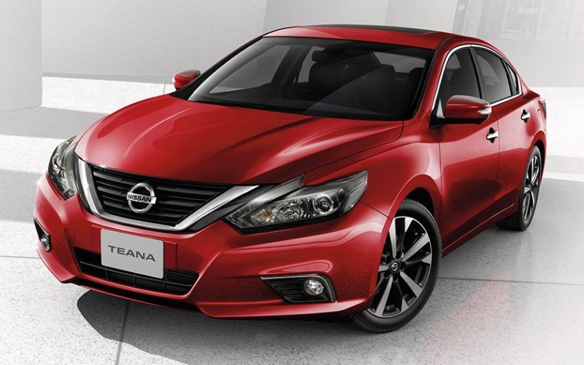 Nissan Teana facelift launched in Thailand, fr RM169k Image #884591