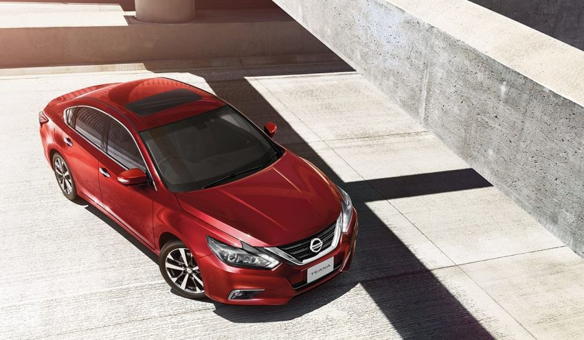 Nissan Teana facelift launched in Thailand, fr RM169k Image #884592