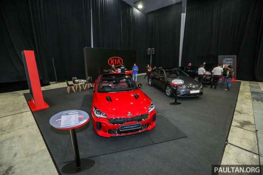 Kia @ <em>paultan.org</em> PACE: Kia Stinger makes an appearance, Optima GT facelift debuts at RM169,888 Image #883724