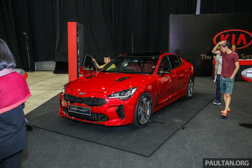 Kia @ <em>paultan.org</em> PACE: Kia Stinger makes an appearance, Optima GT facelift debuts at RM169,888 Image #883737