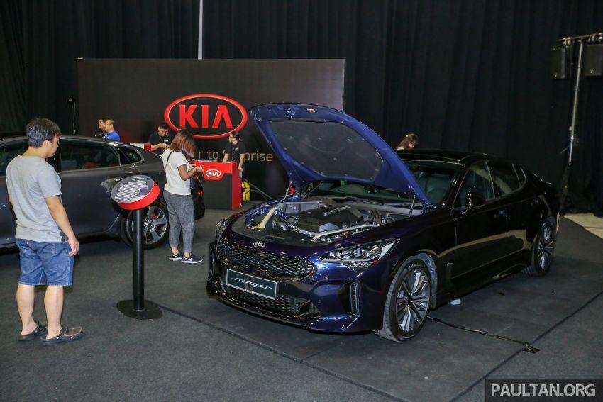 Kia @ <em>paultan.org</em> PACE: Kia Stinger makes an appearance, Optima GT facelift debuts at RM169,888 Image #883731