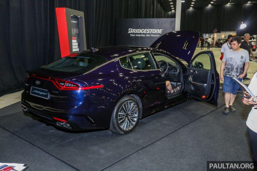 Kia @ <em>paultan.org</em> PACE: Kia Stinger makes an appearance, Optima GT facelift debuts at RM169,888 Image #883732