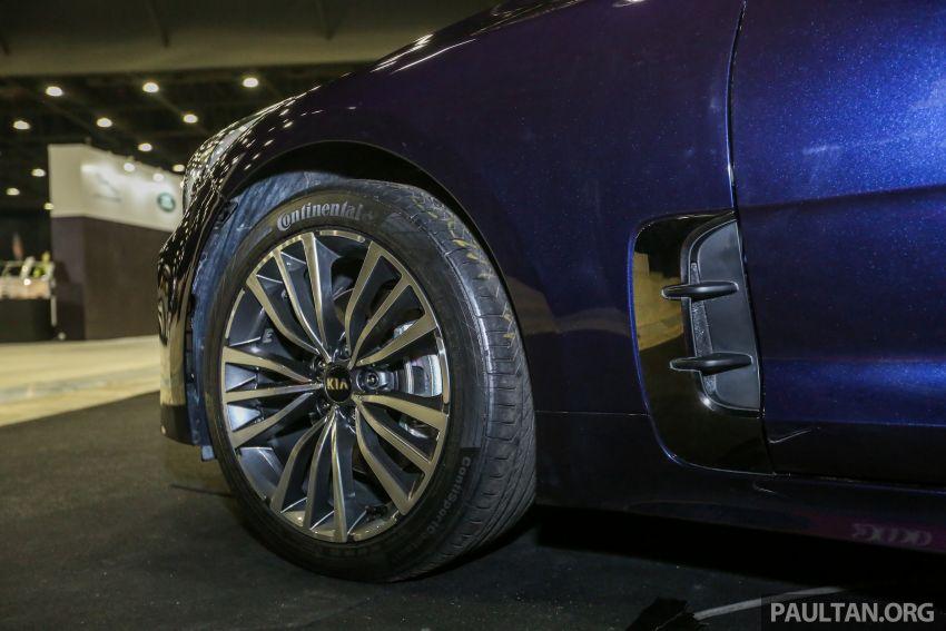 Kia @ <em>paultan.org</em> PACE: Kia Stinger makes an appearance, Optima GT facelift debuts at RM169,888 Image #883733