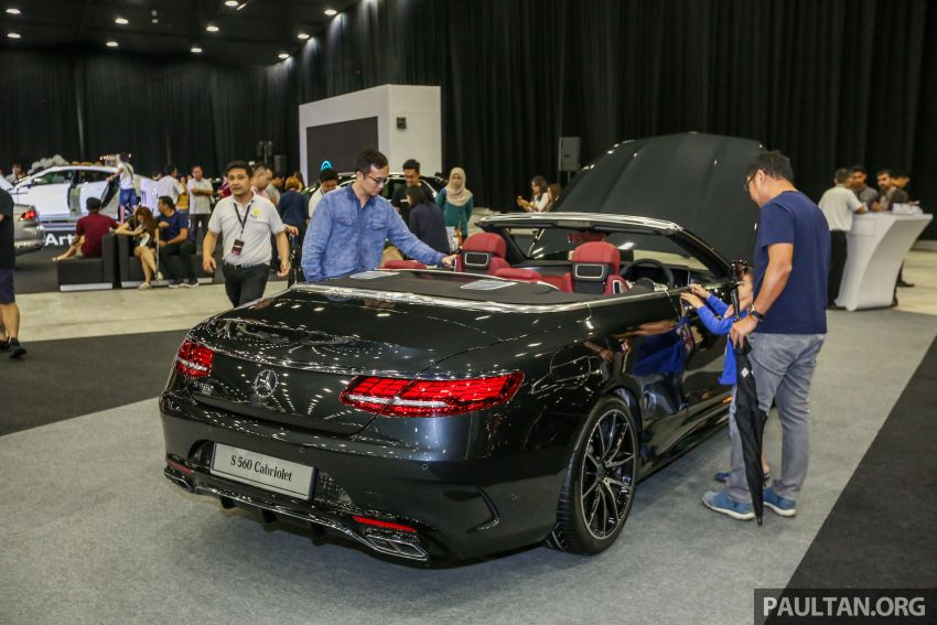 Mercedes-Benz @ <em>paultan.org</em> PACE – C-Class facelift and new A-Class leads an all-star line-up at the show Image #883648