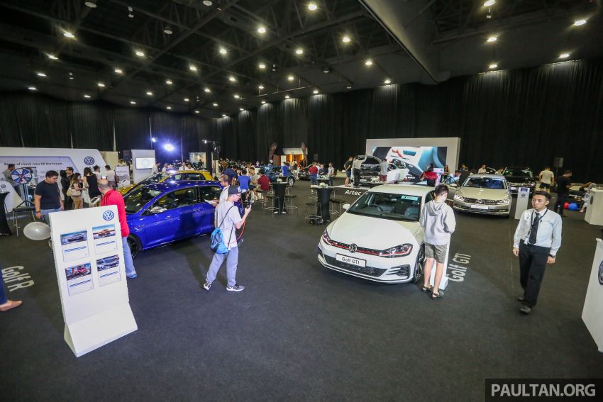 Volkswagen @ paultan.org PACE 2018 – Arteon previewed; Passat, Beetle, Golf range on display Image #883666