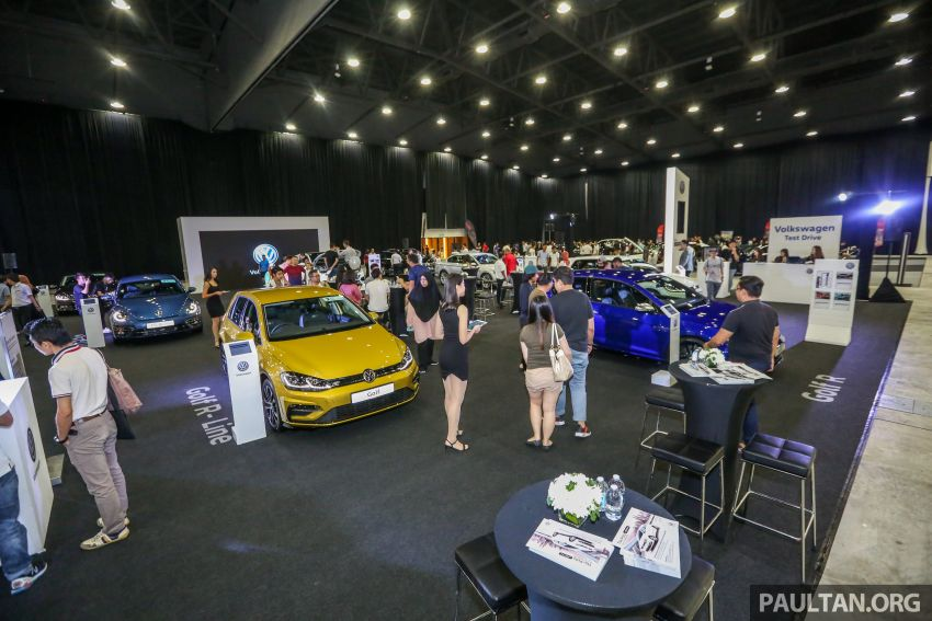 Volkswagen @ paultan.org PACE 2018 – Arteon previewed; Passat, Beetle, Golf range on display Image #883668