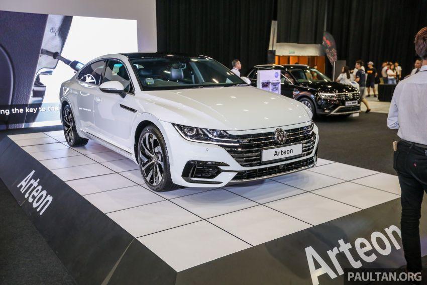 Volkswagen @ paultan.org PACE 2018 – Arteon previewed; Passat, Beetle, Golf range on display Image #883711