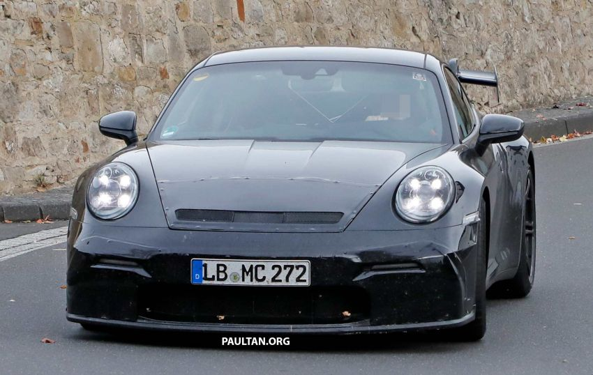 SPIED: 992 Porsche 911 GT3 to be naturally aspirated? Image #885567