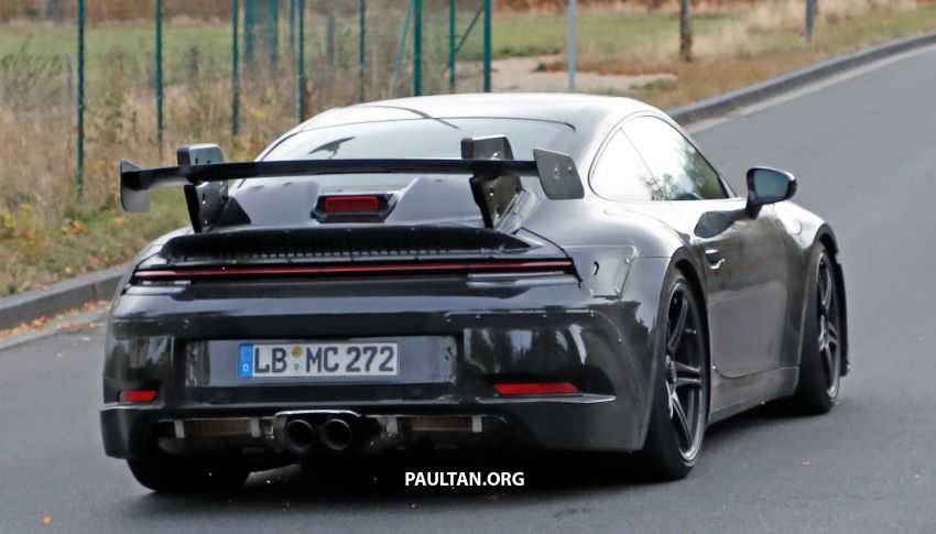 SPIED: 992 Porsche 911 GT3 to be naturally aspirated? Image #885578