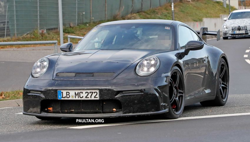 SPIED: 992 Porsche 911 GT3 to be naturally aspirated? Image #885586