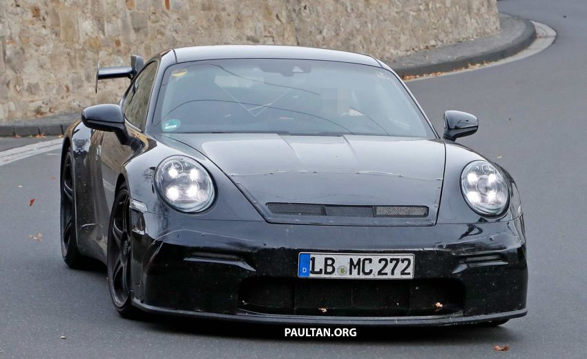 SPIED: 992 Porsche 911 GT3 to be naturally aspirated? Image #885568