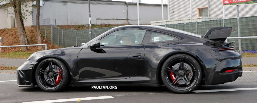 SPIED: 992 Porsche 911 GT3 to be naturally aspirated? Image #885589