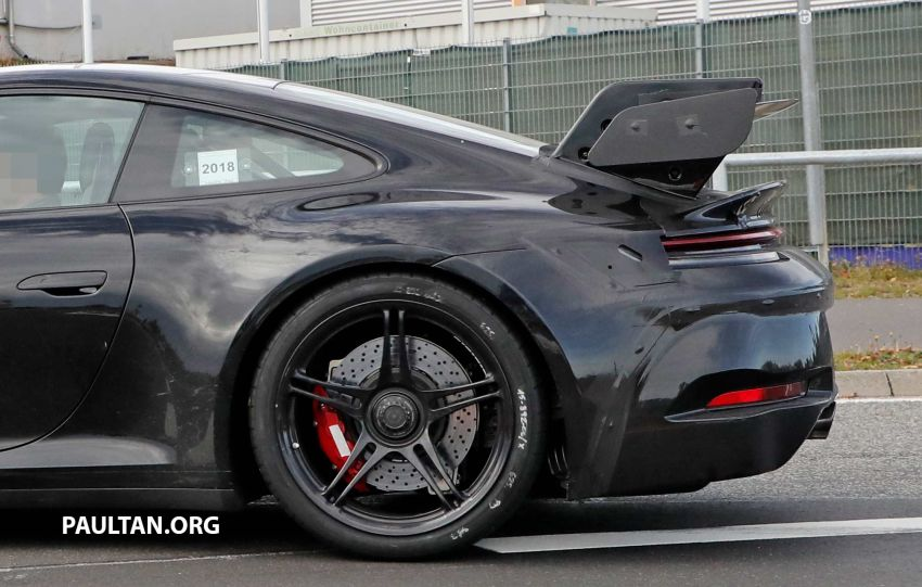 SPIED: 992 Porsche 911 GT3 to be naturally aspirated? Image #885590