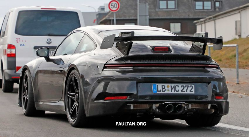 SPIED: 992 Porsche 911 GT3 to be naturally aspirated? Image #885594