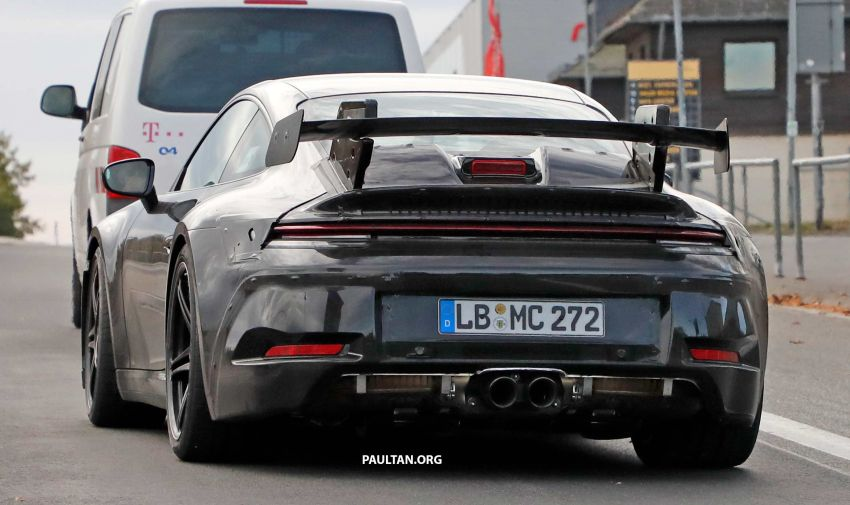 SPIED: 992 Porsche 911 GT3 to be naturally aspirated? Image #885595