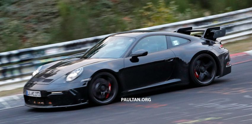 SPIED: 992 Porsche 911 GT3 to be naturally aspirated? Image #885597
