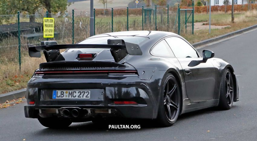 SPIED: 992 Porsche 911 GT3 to be naturally aspirated? Image #885577