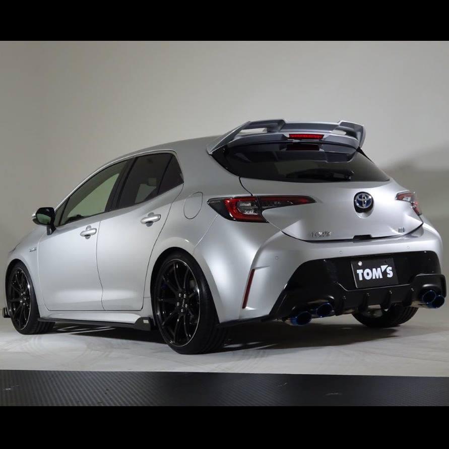 TOM'S Corolla Sport Dipamerkan Di Toyota Gazoo Racing