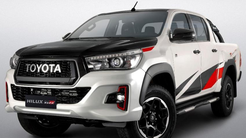 Toyota Hilux GR Sport buat penampilan di Brazil Image #884855