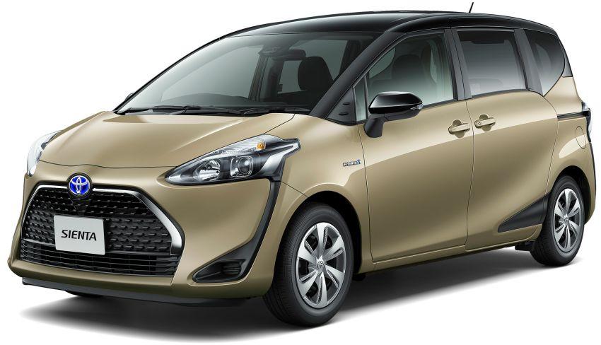 Toyota Sienta facelift 1 Image #894472