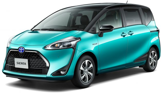 Toyota Sienta Facelift Gets Five-seater Option In Japan