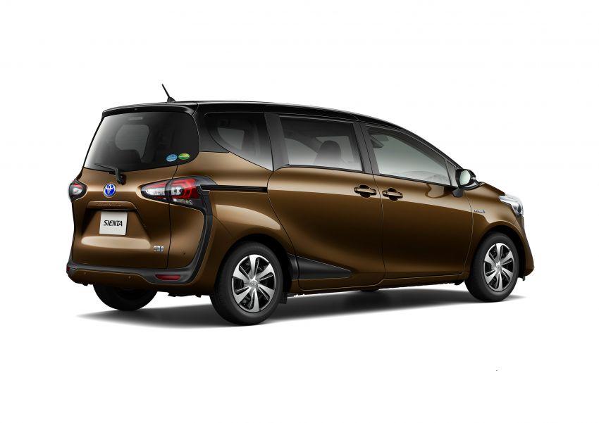 Toyota Sienta facelift 4 Image #894448