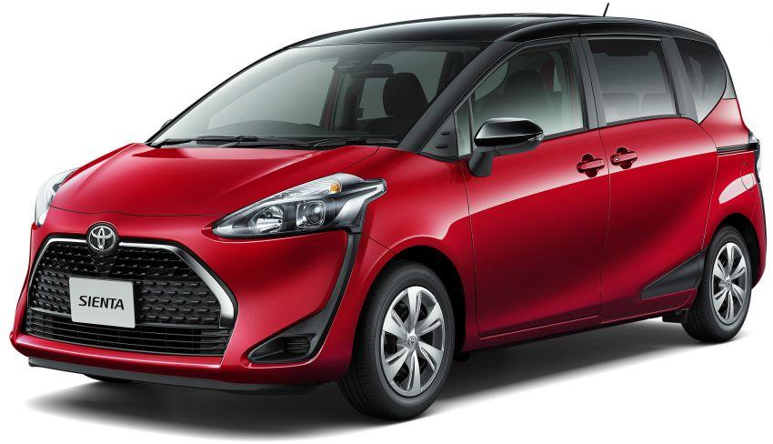 Toyota Sienta facelift 5 Image #894475