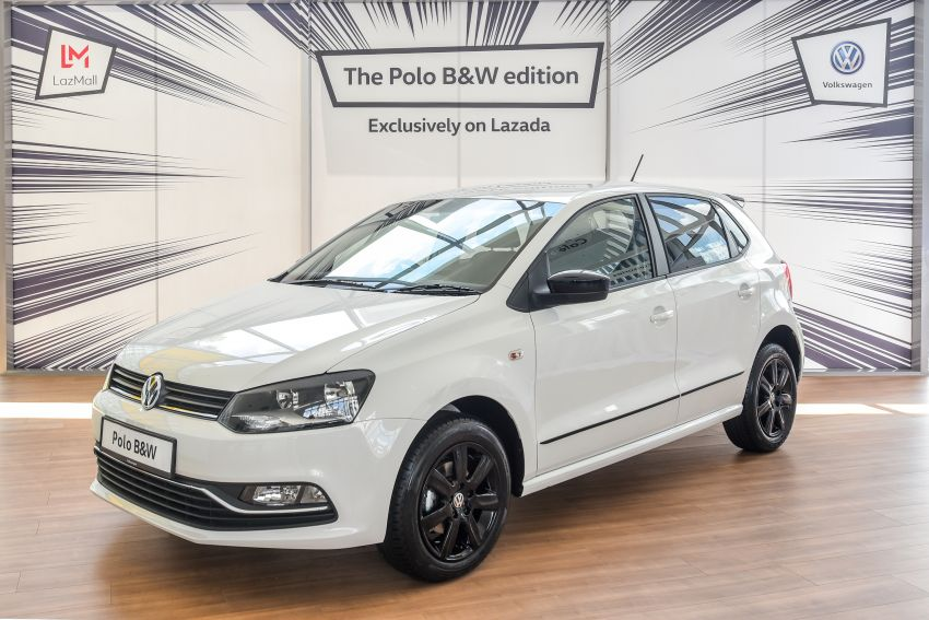 Volkswagen Polo Black & White launched in Malaysia – only available through Lazada on Nov 11; RM68,488 Image #886189