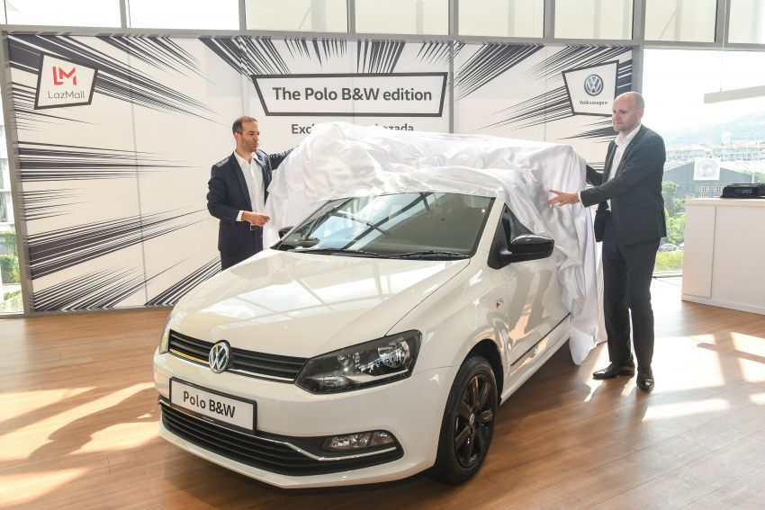 Volkswagen Polo Black & White launched in Malaysia – only available through Lazada on Nov 11; RM68,488 Image #886204