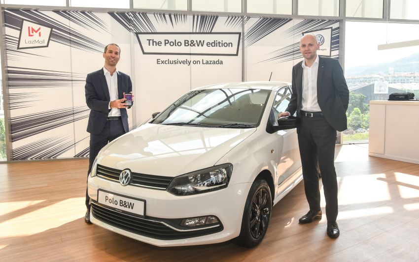 Volkswagen Polo Black & White launched in Malaysia – only available through Lazada on Nov 11; RM68,488 Image #886205