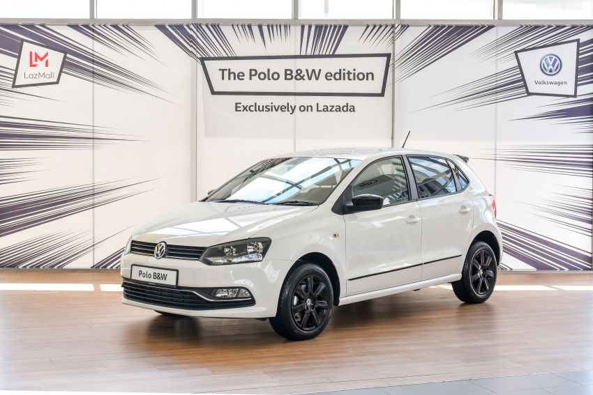 Volkswagen Polo Black & White launched in Malaysia – only available through Lazada on Nov 11; RM68,488 Image #886191