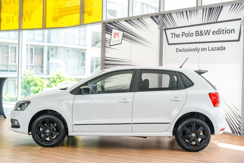 Volkswagen Polo Black & White launched in Malaysia – only available through Lazada on Nov 11; RM68,488 Image #886193